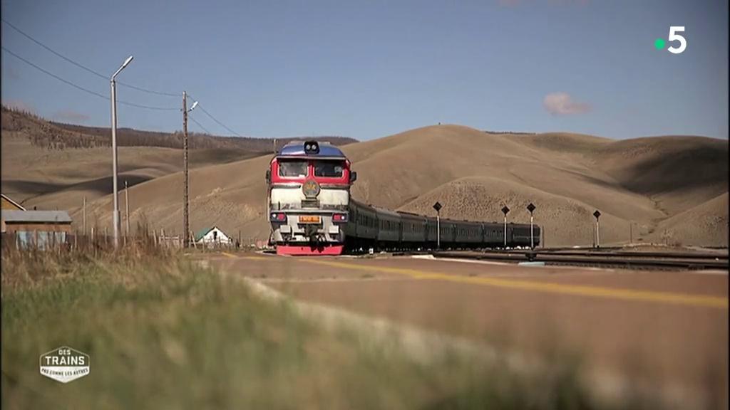 Des trains pas comme les autres - Mongolie