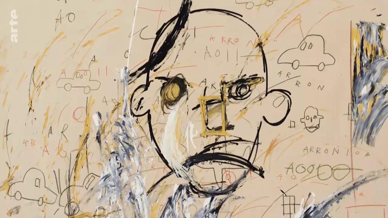 Jean-Michel Basquiat - La rage créative