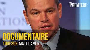 Documentaire Tout sur Matt Damon