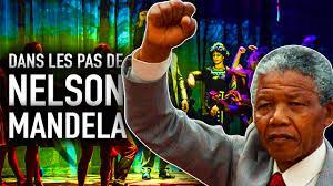 Documentaire Dans les pas de Nelson Mandela