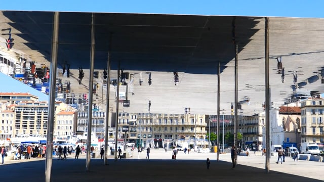 Sortir de la carte postale - L'ombrière, Marseille