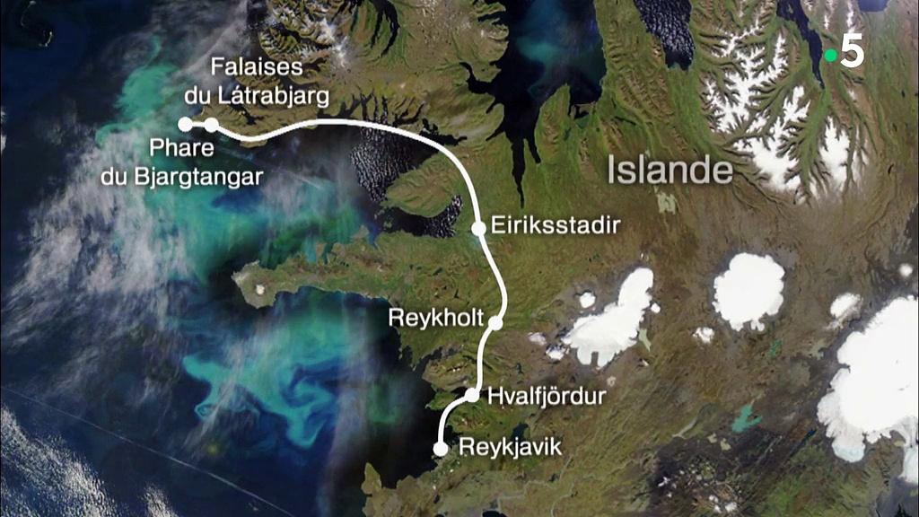 Documentaire Vues d'en haut – La côte ouest de l'Islande