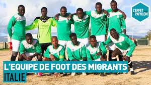 Documentaire Italie : l'Équipe de foot des migrants