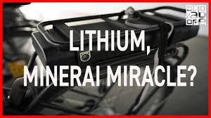 Le lithium, minerai miracle pour nos batteries ?