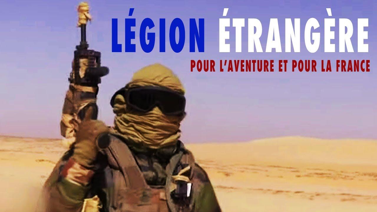 Documentaire Légion étrangère : pour l'aventure et pour la France