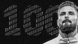 Olivier Giroud, dans le Club des 100