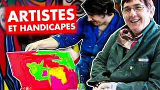 Artistes et handicapés, des talents pas ordinaires
