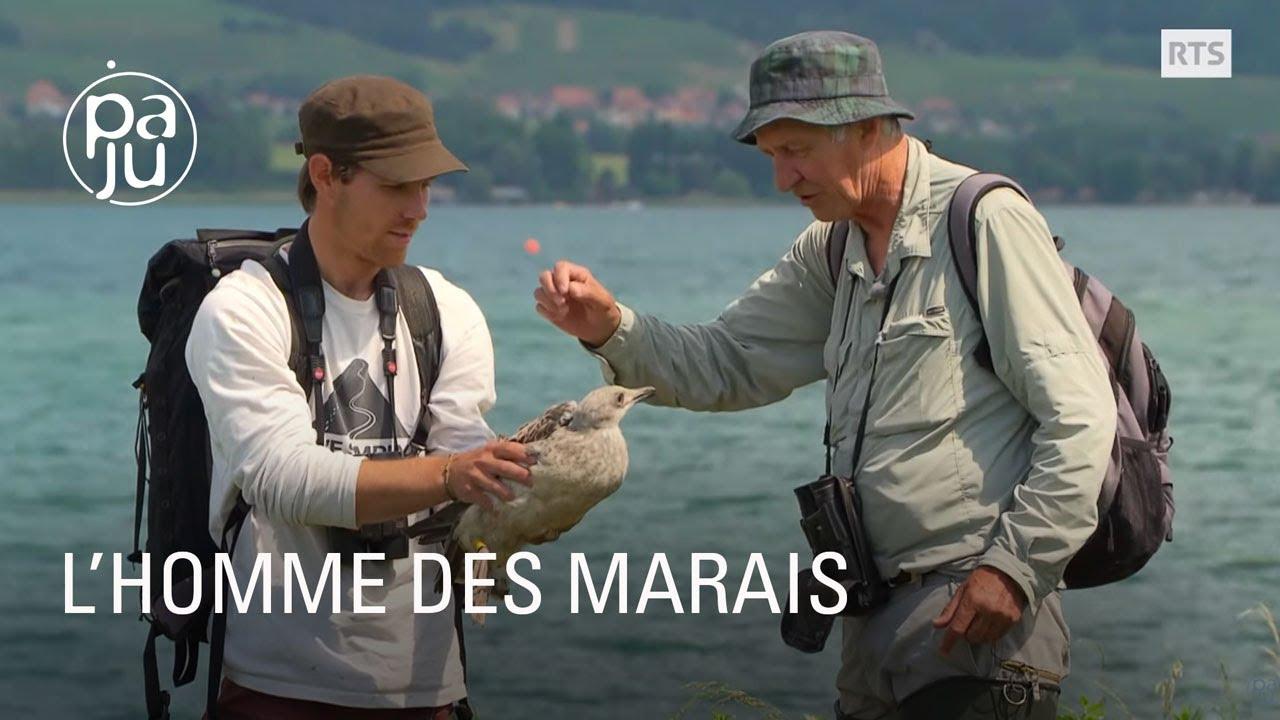 Michel a consacré sa vie au plus grand marais lacustre de Suisse