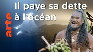 Documentaire Nager jusqu'aux ancêtres   Îles Marquises – L'odyssée d'Ismaël
