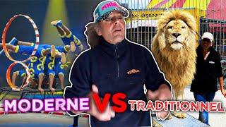 Documentaire Traditionnel ou moderne, la guerre des cirques