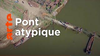 Documentaire Birmanie : l'étonnant pont de bambou
