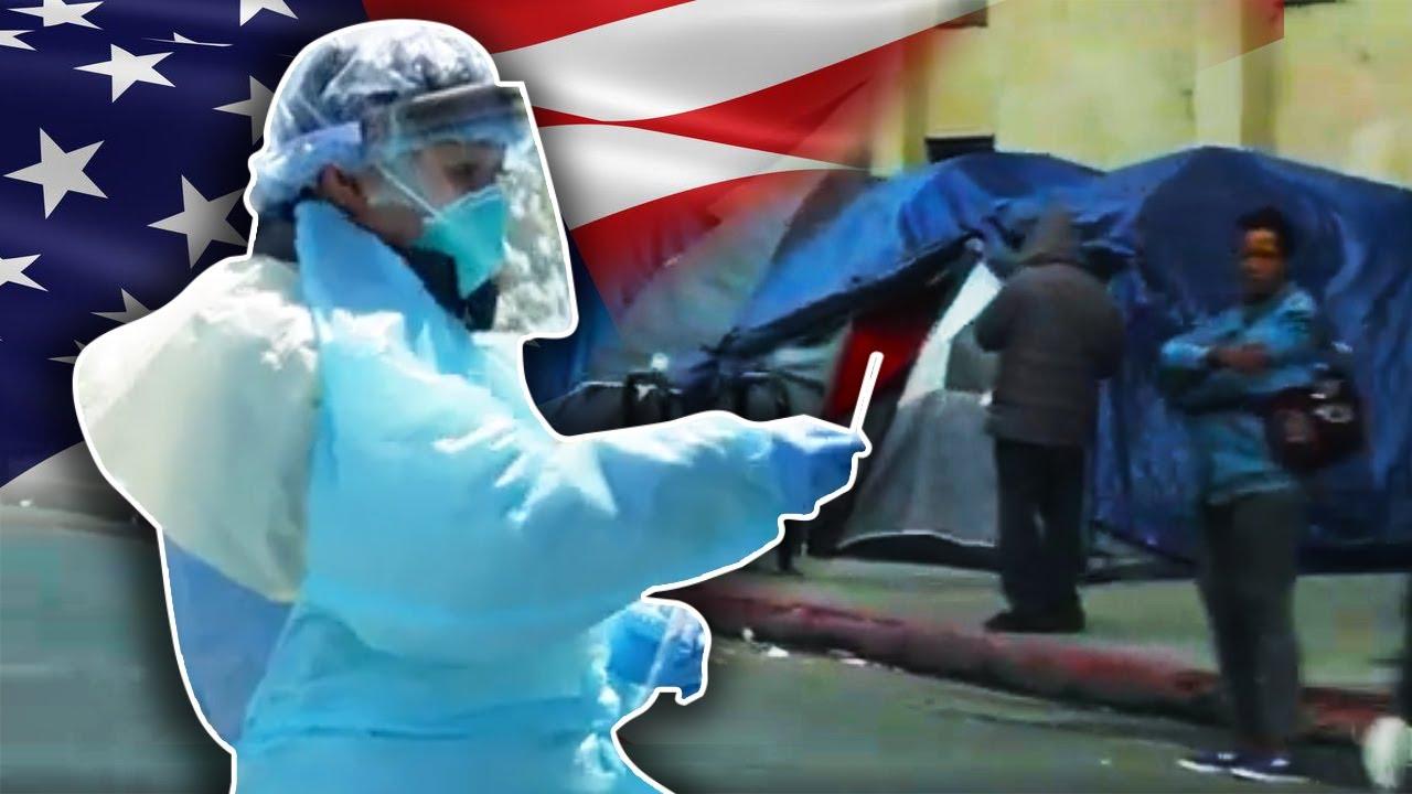 Documentaire Crise sanitaire : Los Angeles, l'Amérique tétanisée