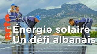 Énergie solaire : le défi d'une start-up en Albanie