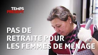 Femmes de ménage, la retraite impossible