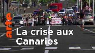 Documentaire Espagne : Canaries, une île sous pression