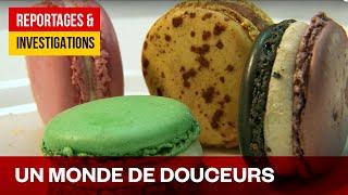 La folie des macarons, le roi de la pâtisserie française