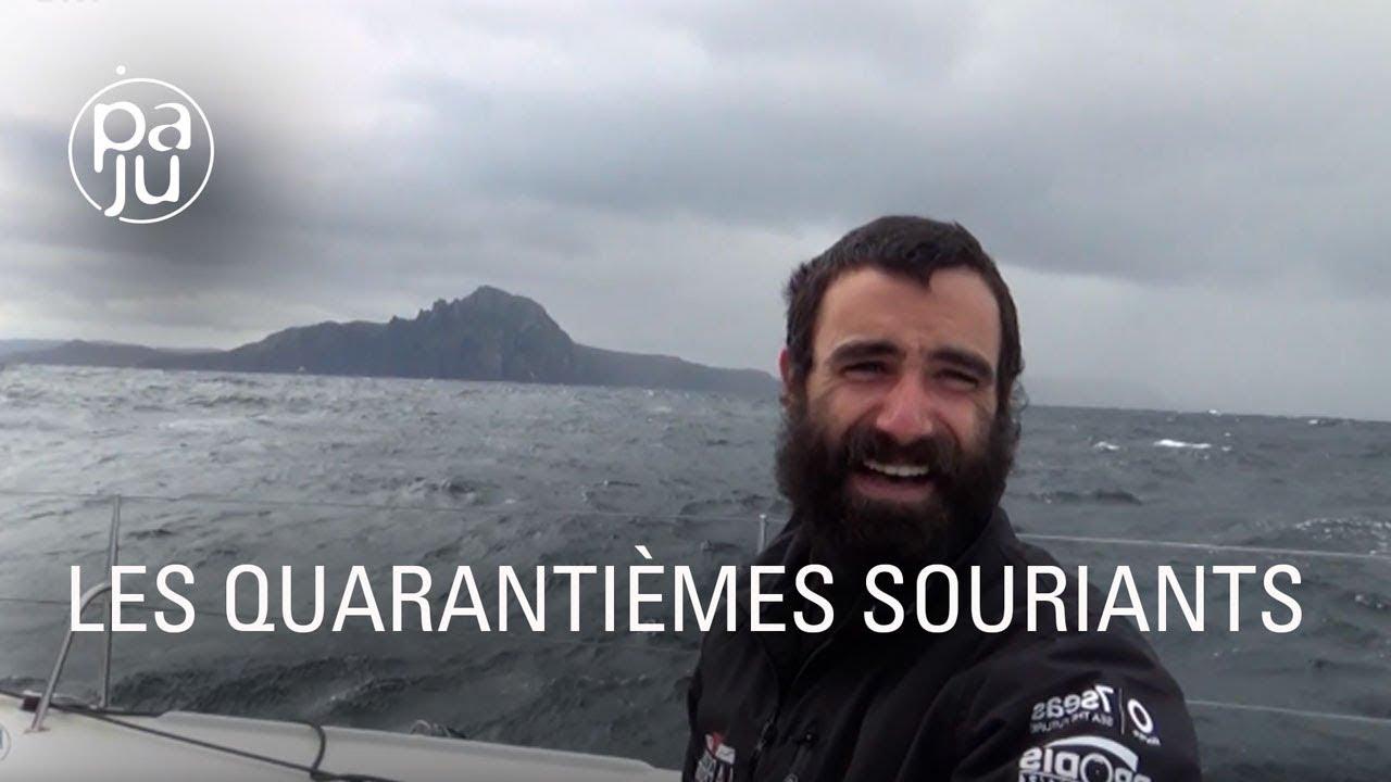 Le navigateur Alan Roura, toute une vie sur un bateau