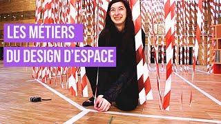 Les métiers du design d'espace
