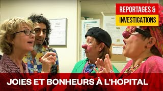 Documentaire Miou Miou et les «Clowns Z'hopitaux» – Ambassadrice de l'espoir