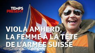 Viola Amherd, la femme à la tête de l'armée suisse