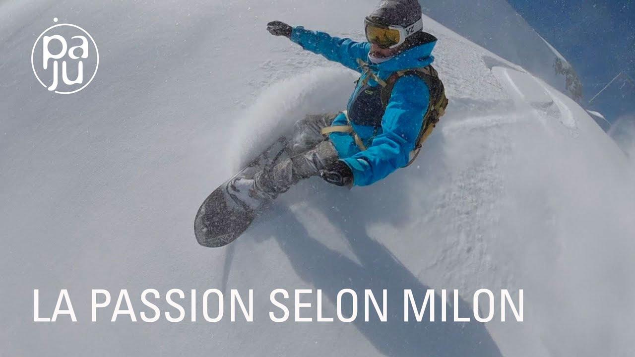 Humble et talentueux, Milon a consacré sa vie au snowboard