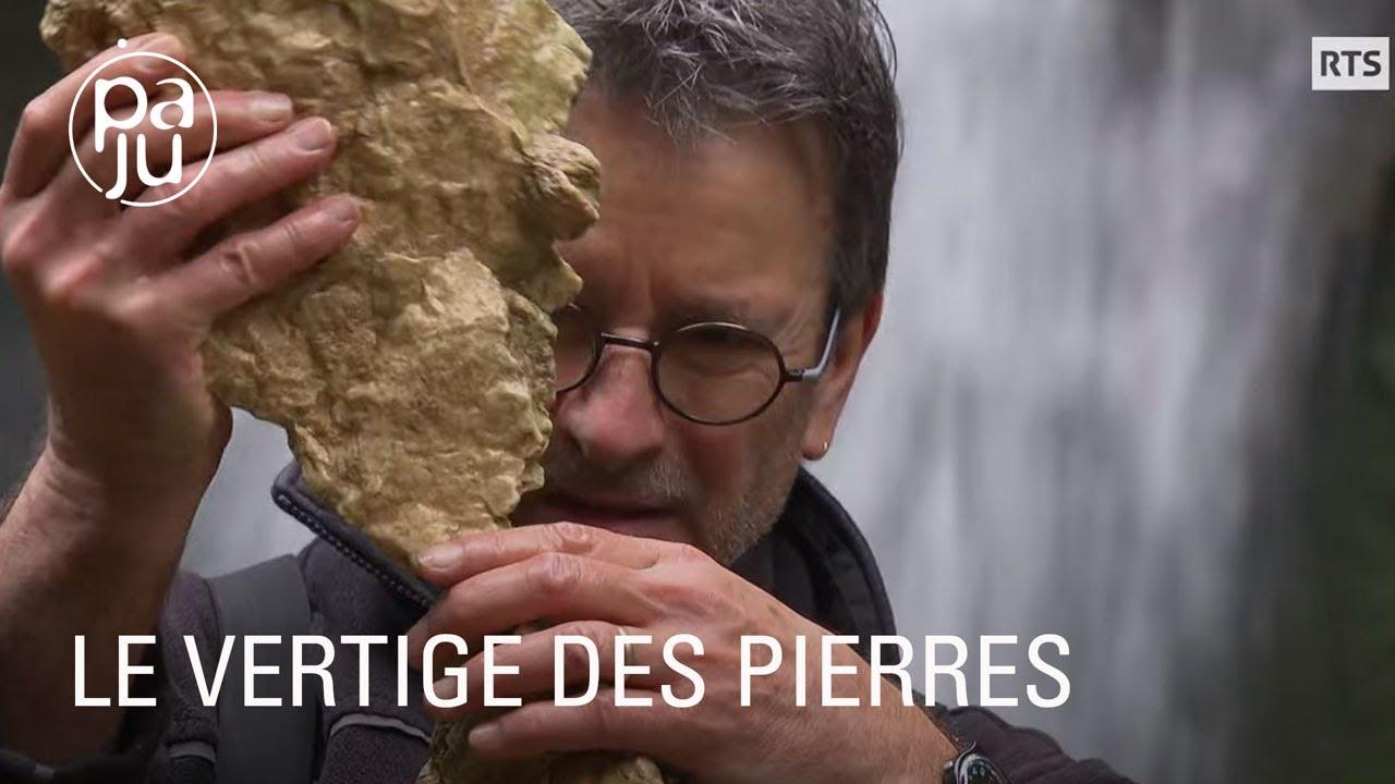 Jean-Paul crée d'étonnants équilibres de pierres dans la nature, sculptures poétiques et éphémères