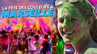 La fête des couleurs à Marseille
