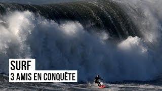Documentaire Les dompteurs de vagues géantes