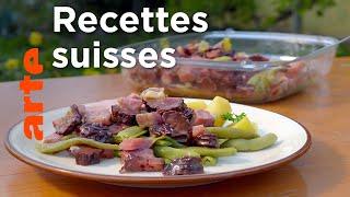 Les plats typiques de la Suisse orientale
