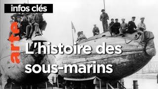 L'histoire des sous-marins | Le mythe des profondeurs