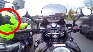 Motards de la Police, une journée d'enfer !