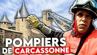 Documentaire Pompiers de Carcassonne : la cité médiévale s'embrase