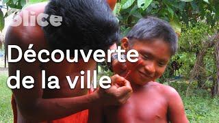 Documentaire Amazonie : sortie en ville pour les Wajãpi