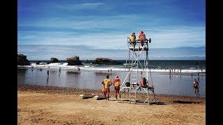 Biarritz, l'école des sauveteurs