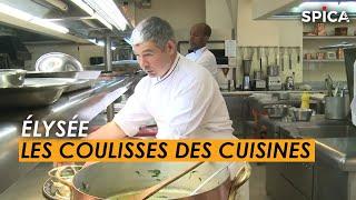 Élysée : au cœur des cuisines de l'excellence