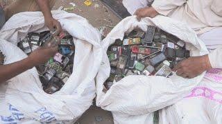 Inde : le défi du recyclage des déchets électroniques