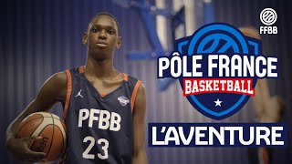 L'aventure Pôle France Basketball