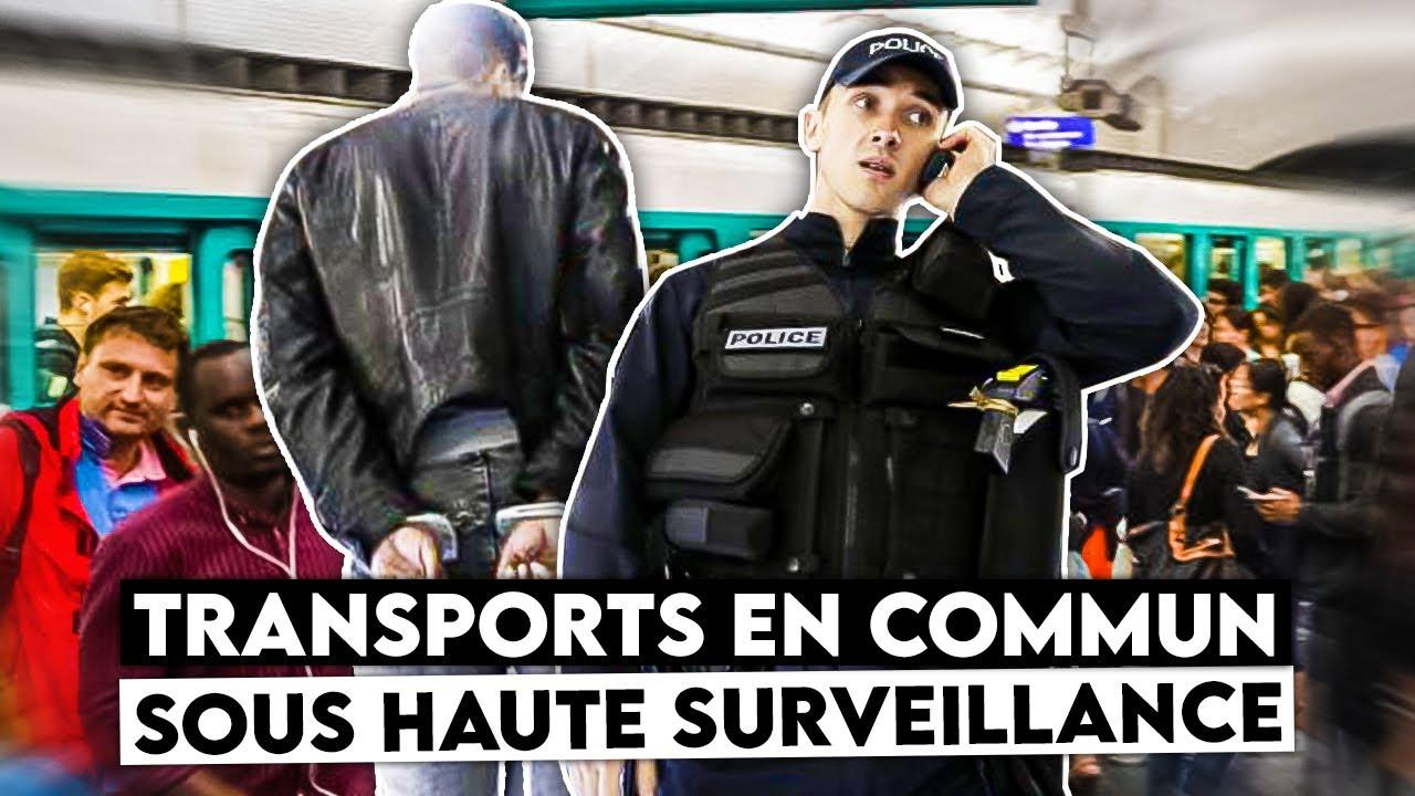 Transports en commun sous haute surveillance