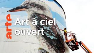 Australie, le street art s'invite sur les silos