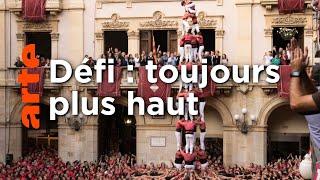 Catalogne : l'étonnante compétition des pyramides humaines