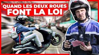 Documentaire Deux roues à Paris : la police en embuscade !