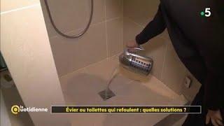 Evier ou toilettes qui refoulent : quelles solutions ?