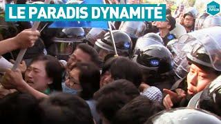 Documentaire Le paradis dynamité par les militaires