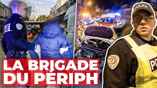 Périphérique parisien : la police en action