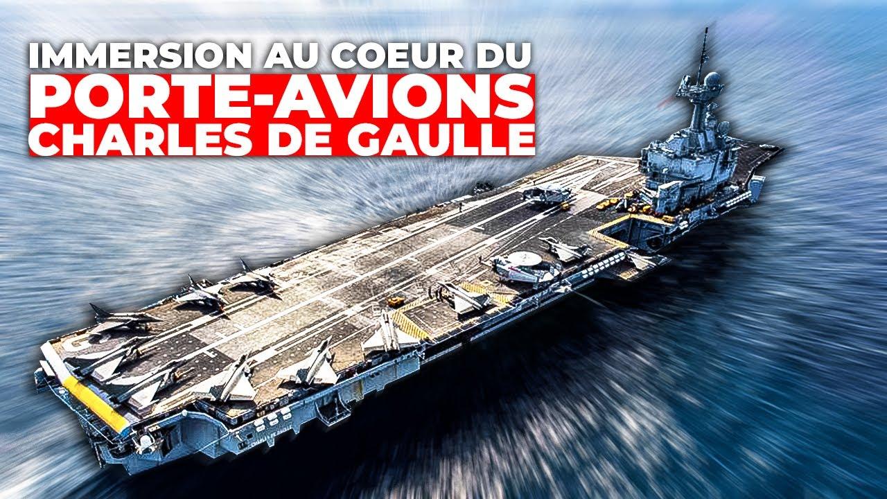 Porte-avions Charles de Gaulle, un géant des mers