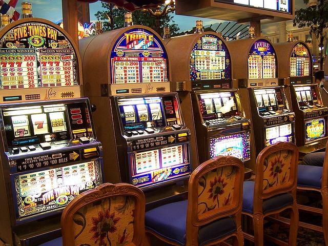 Machines à sous dans les casinos en ligne aujourd'hui