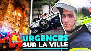 Documentaire Accidents, psy, pompiers : urgences sur la ville