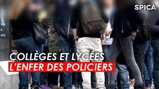Documentaire Collèges et lycées : l'enfer des policiers