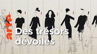 Les dessins de Christian Dior