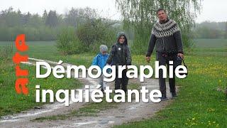 Documentaire Lettonie : démographie peau de chagrin